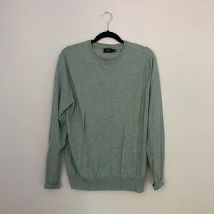J Crew green sweater